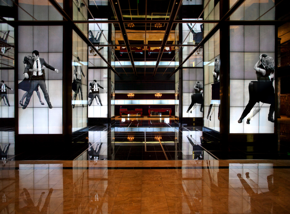 The Cosmopolitan of Las Vegas   An immersive media experience in the West Lobby