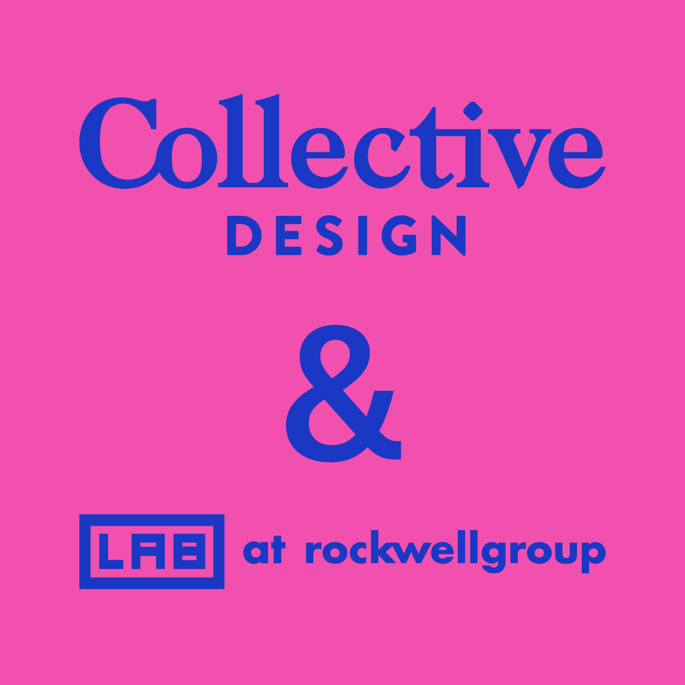 Collective Design and the LAB at Rockwell Group - 03/23/2017NYC The Official Group