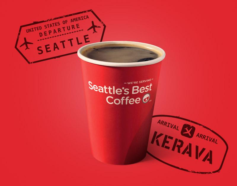 KOTIPIZZA / SEATTLE'S BEST COFFEE