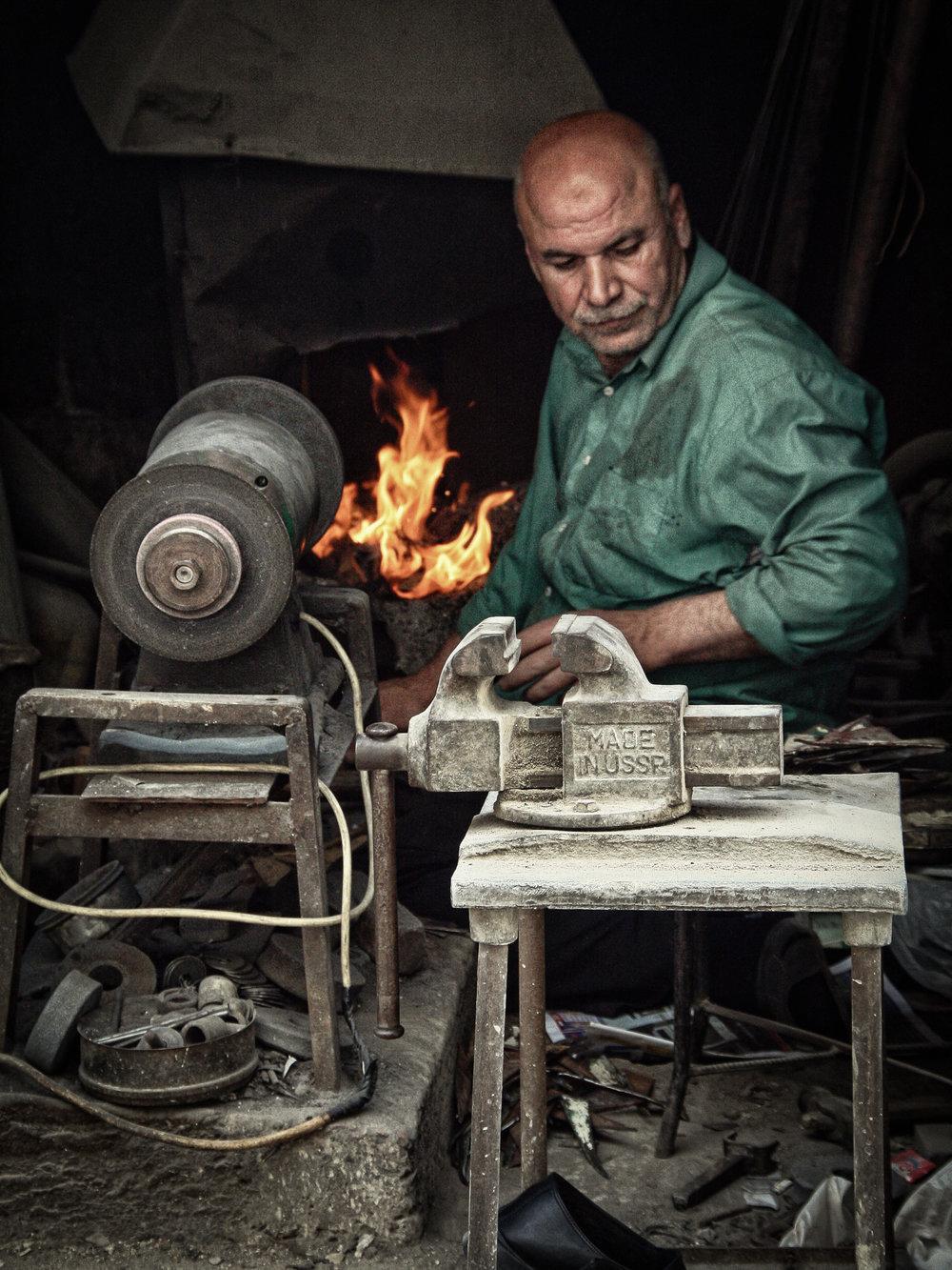 The Metal Smith (Damascus)