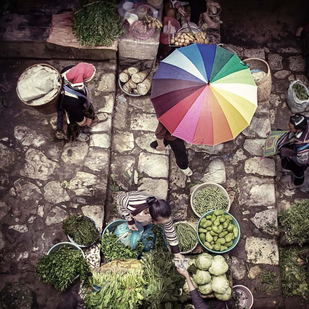 Market in SaPa