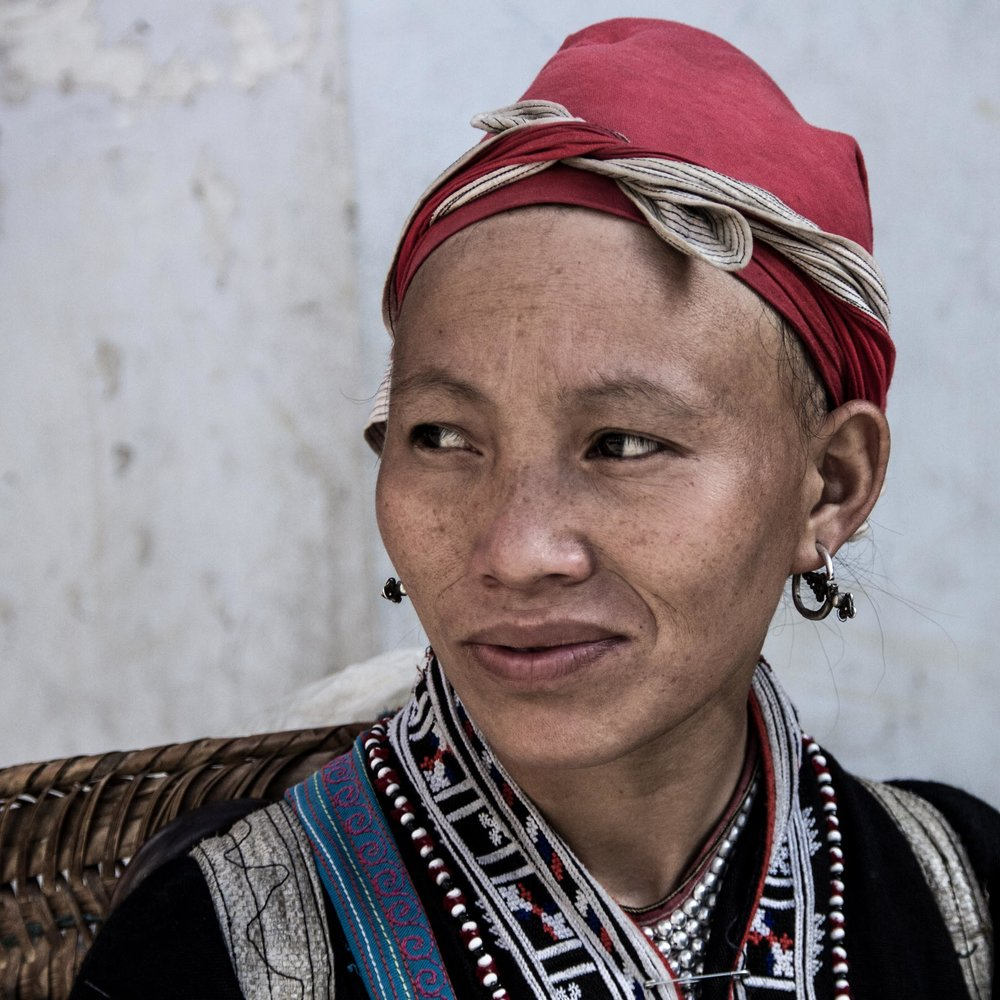 Red Dao Lady in SaPa