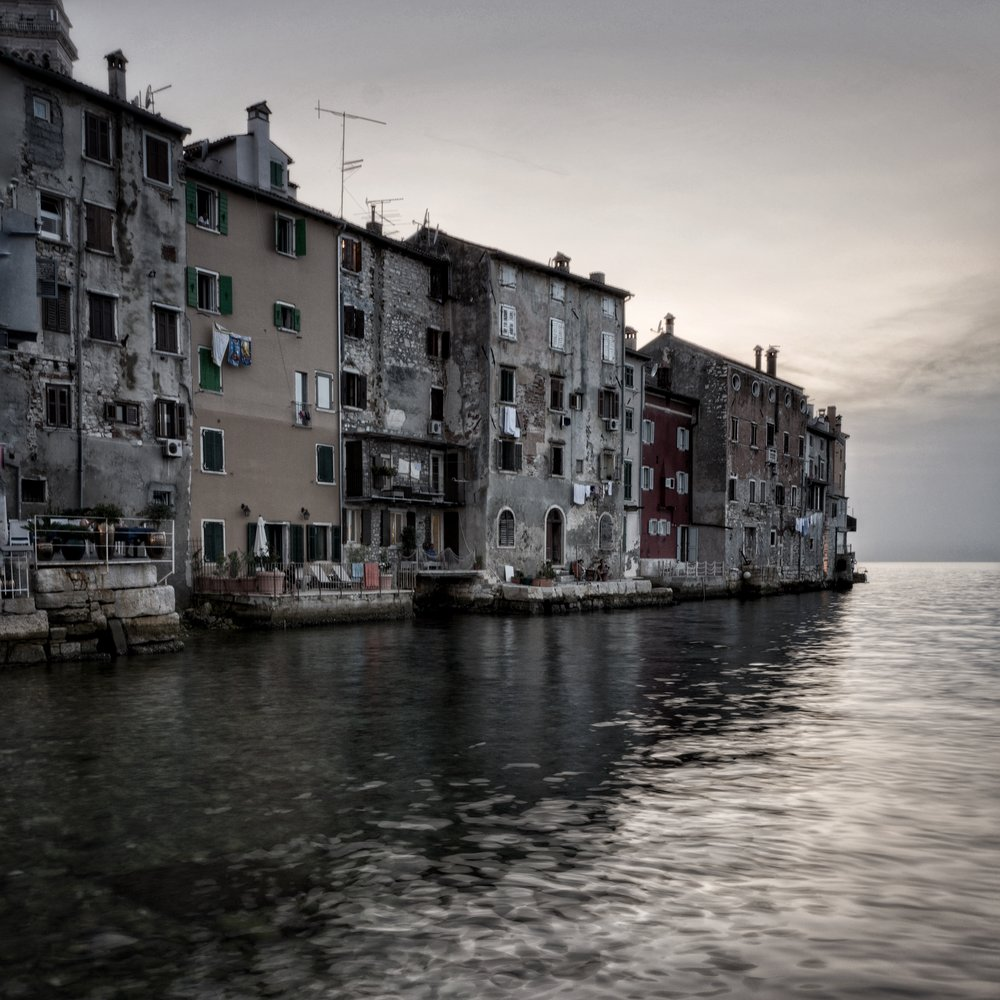 Rovinj, Croatia. Low light long(ish) exposure performance is highly satisfactory under controlled ISO settings.