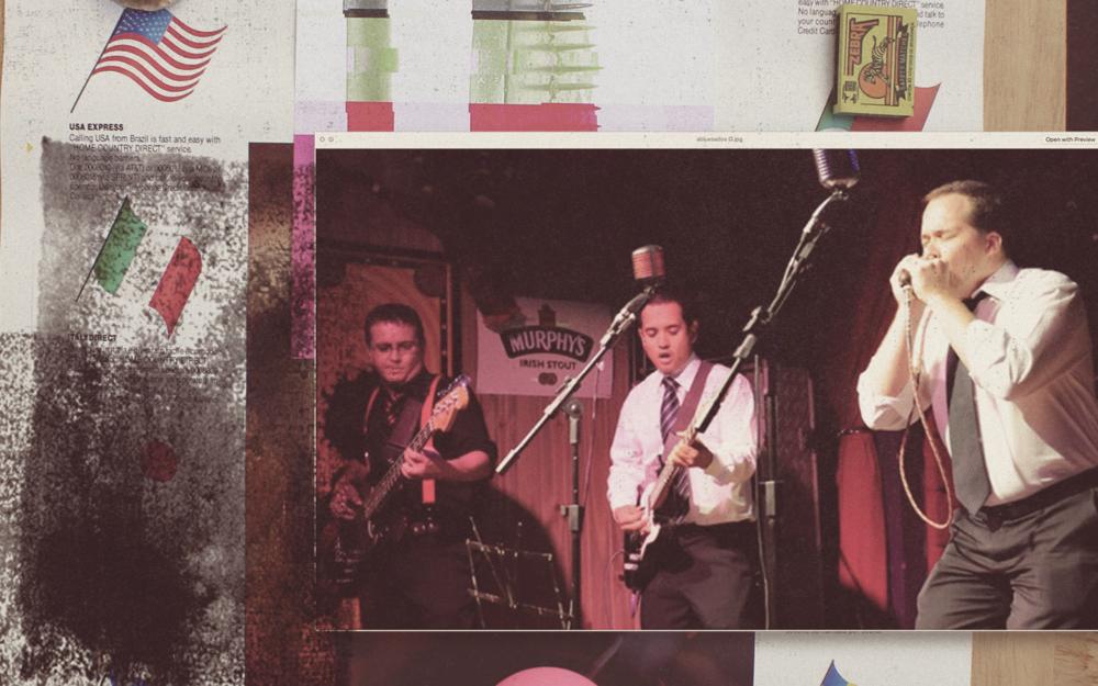 """Abluesados >Com 17 anos de estrada e dois CDs gravados, em Goiás é a principal referência do Blues. Com seu trabalho original, é fiel aos grandes mestres do estilo musical. Notáveis do cenário nacional, como Robson Fernandes, Flávio Guimarães, Helton Ribeiro (revista Blues'n'Jazz), já incluem a Banda entre as principais de Blues do Brasil. Tendo circulado em todo o país, foi banda de base em shows de Andy Just (USA), Flávio Guimarães (RJ), Tiffany Harp (SC), Thomas T. Love (Dinamarca), Mitch Kashmar (USA), Kenny Brown (USA), entre outros. Abriu shows como os do Blues Etílicos, Nazi, The Headecutters, Walter """"Wolfman"""" Washington & The RoadMasters (USA), Mud Morganfield (USA) filho de Muddy Waters, entre outros. Formação: Luciano Ninomia - Guitarra e Vocal; Maurício Machado – Baixo; Fridinho – Guitarra e Vocal; André Prado – Bateria; Leandro Machado - Produção Executiva e Técnica."""