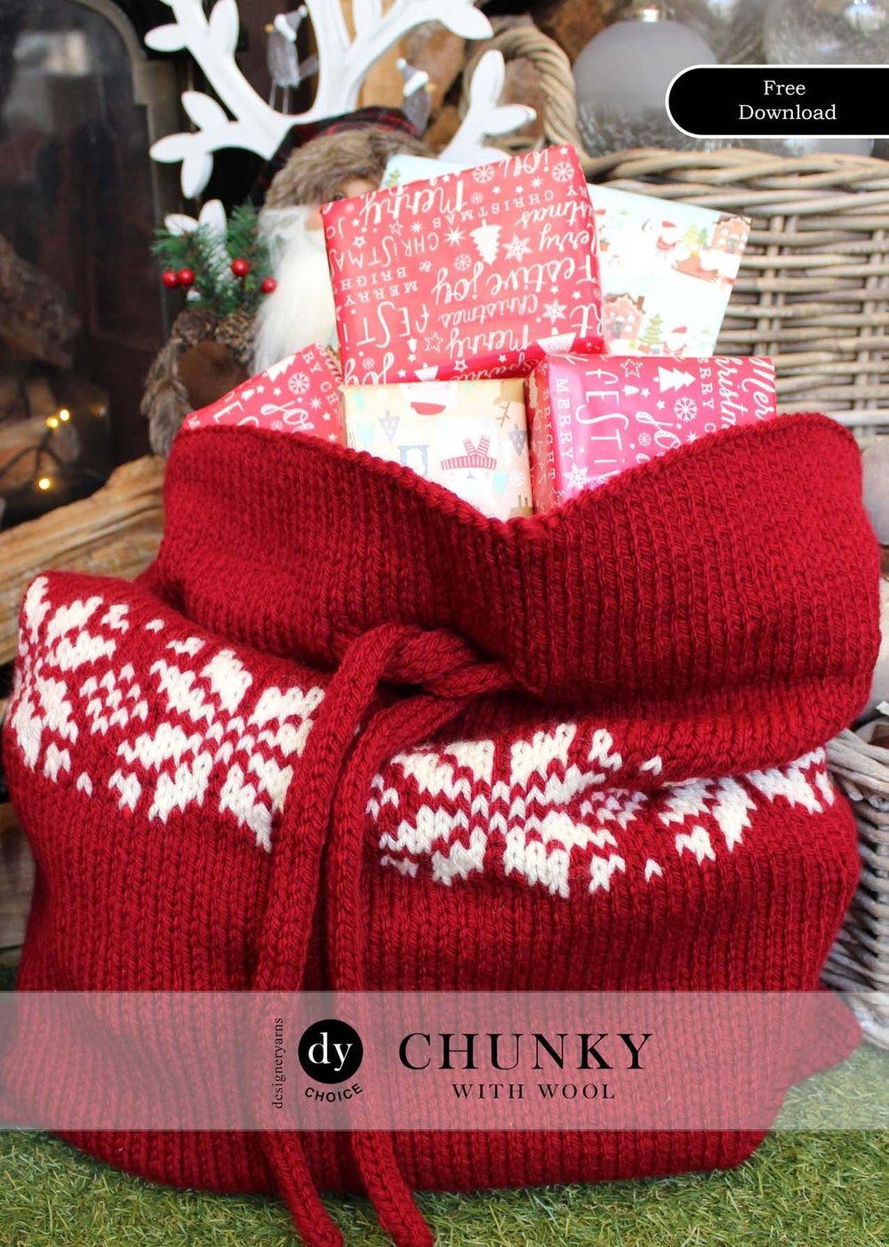 Christmas Bag Snowflake