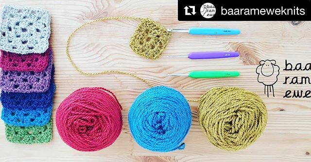 #Repost @baarameweknits with @get_repost ・・・ Don't miss out on our How to Crochet workshop September 1st. Graeme will teach you how to make wonderful granny squares and give you lots of ideas on how to use them !  https://www.eventbrite.co.uk/e/how-to-crochet-workshop-saturday-1st-september-2018-tickets-44523412726