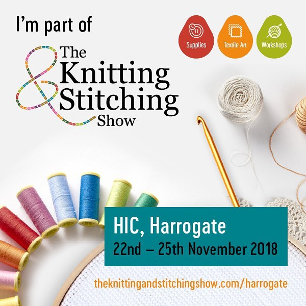 Thursday might be the beginning of the Dublin show but if you're over in the UK, please come see me in Harrogate. Learn to Crochet, try your hand at making something new or just come for a nosey. ⠀ .⠀ .⠀ .⠀ .⠀ .⠀ .⠀ .⠀ .⠀ .⠀ .⠀ #knittingandstitchingshow #wool #yarn #crochet #learnto #amigurumi #harrogate #yorkshire