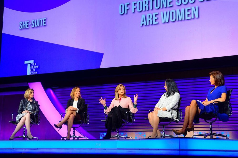 Photo: Tina Brown's Women in the World Summit.