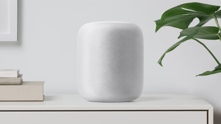 The new HomePod speaker system, image courtesy of Apple