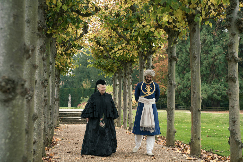 In Victoria & Abdul, Judi Dench and Ali Fazal play Queen Victoria and Abdul Karim, the Indian servant she developed an intimacy with in the final years of her life.