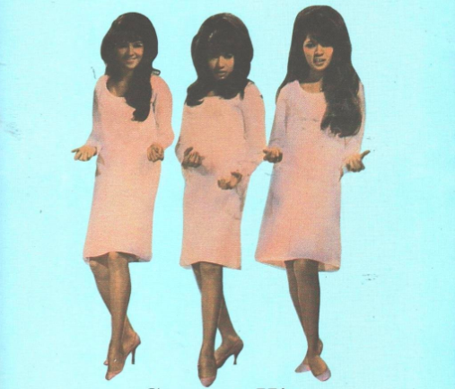 The Ronettes: Hair and music goals forever.