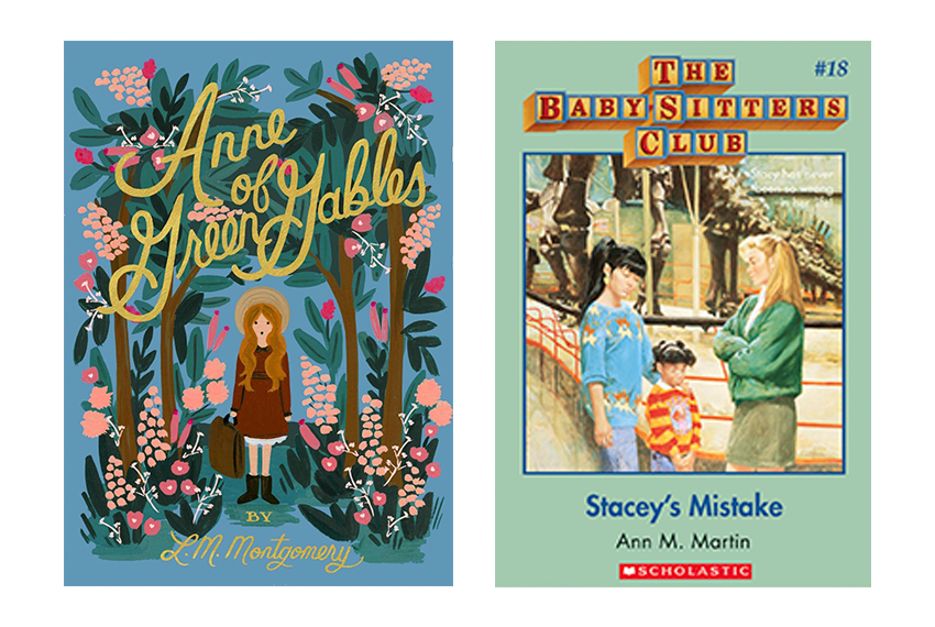Two of the most epic childhood book series...that taught so many of us so much about how life worked.