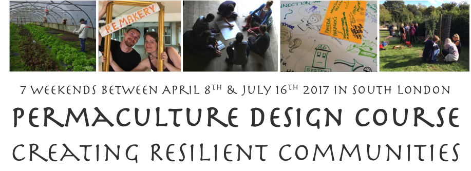 London PDC 2017 Permaculture Design Course