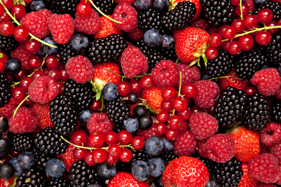 Berries come and go