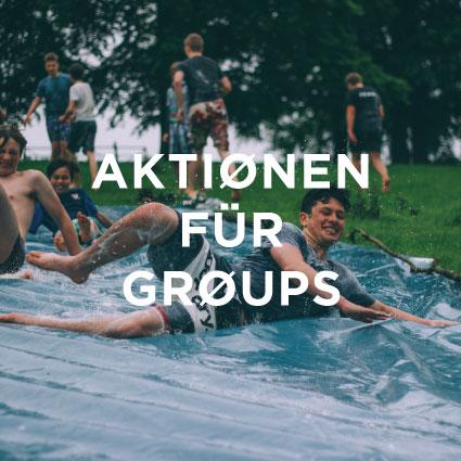 AKTIONEN FÜR GROUPS