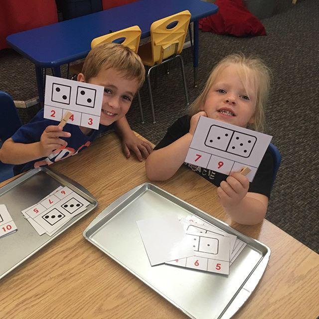 Count the dots and clip the numbers! #lovetolearn #counting #numbers #preschool #homeschool #teachersofig #teachersfollowteachers #teacherspayteachers #iteachtoo