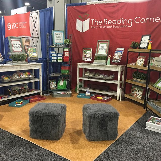 Booth 2124 is ready to go. #naeycac2017 @naeyc