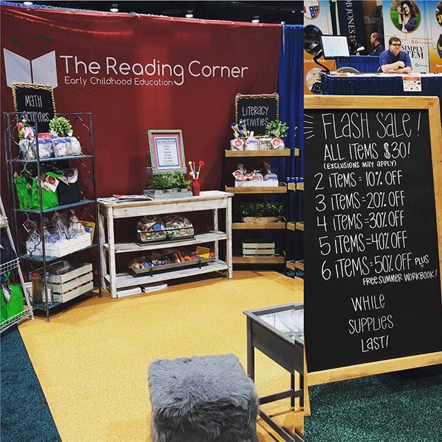 We had our most successful convention to date!  So excited to work with so many new homeschool educators as they teach their children with TRC curriculum!  Thank you to my dear friend Stacy Lee @threearrowslettering who made these amazing signs for my booth.  Check out her amazing products on her Etsy shop!!