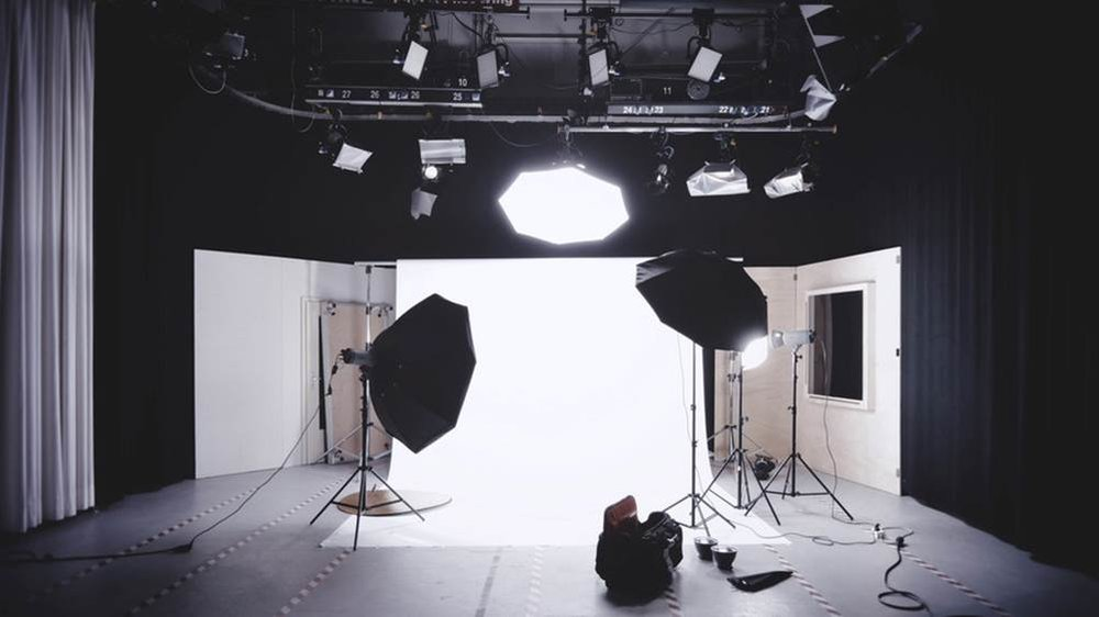 Figure 10. Photography lighting backdrops