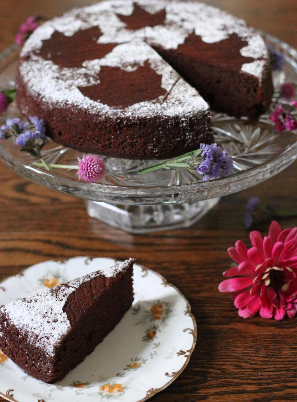 Chocolate Beet Cake | Linden and Lavender