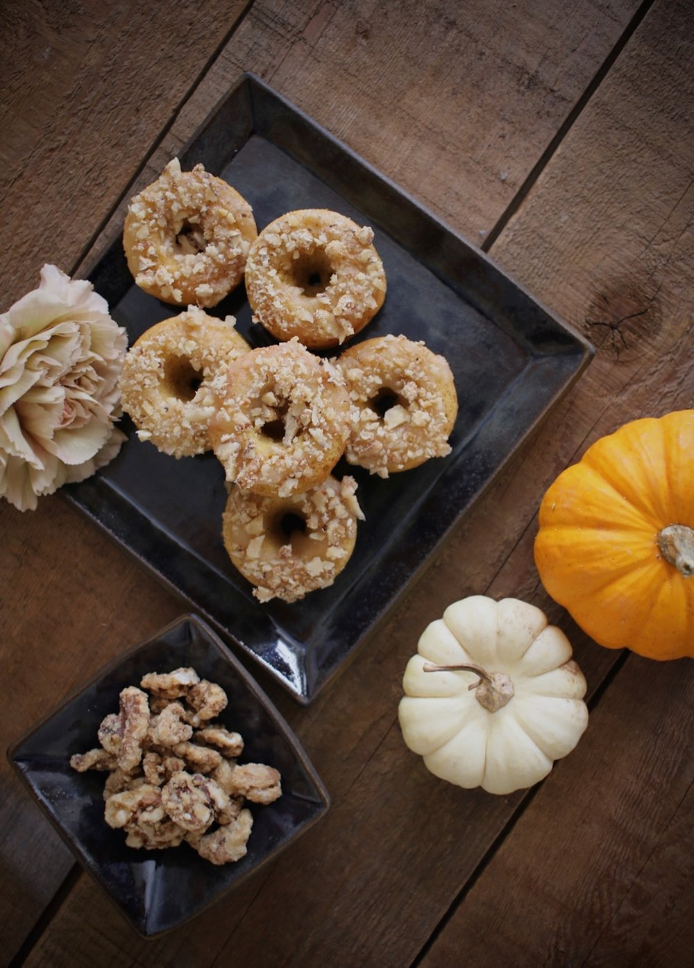 Baked Pumpkin Doughnuts with Maple Walnuts 5 | LindenandLavender.jpg