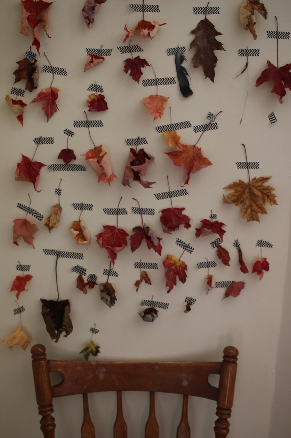 Autumn Life Leaf Wall | Linden and Lavender