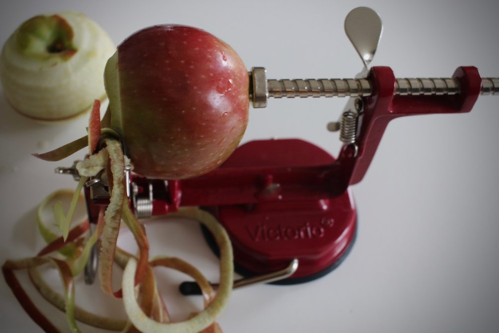 Apple Pealing | Linden & Lavender