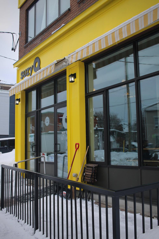 SuzyQ Doughnuts Storefront | Linden & Lavender