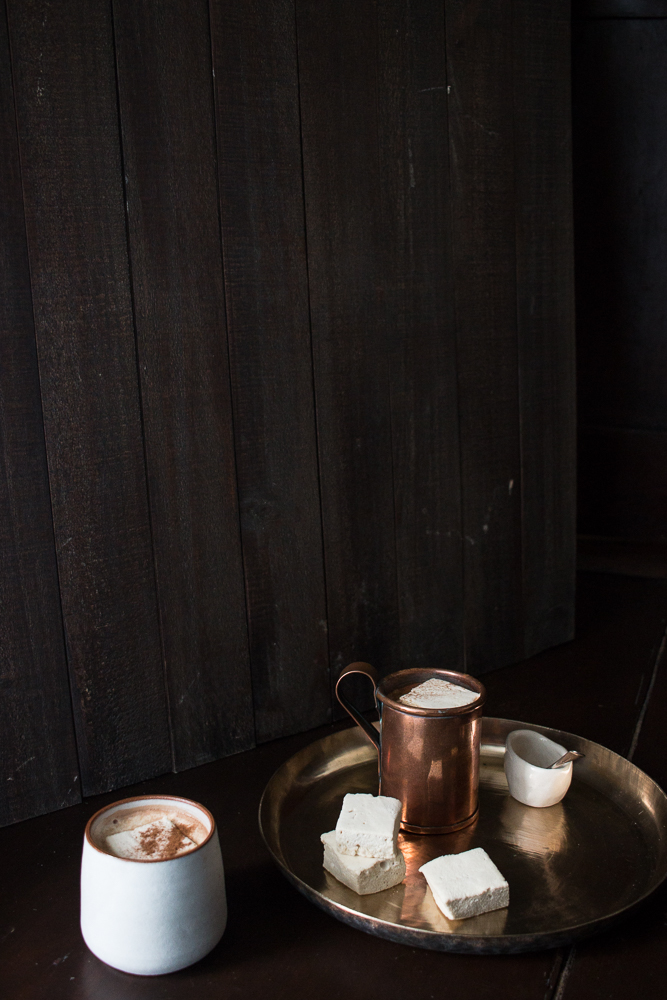 Hot chocolate and homemade marshmallow | Linden & Lavender