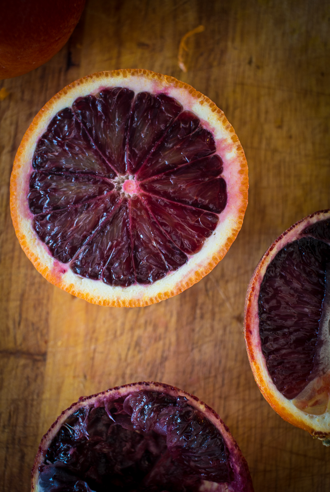 Blood oranges | Linden & Lavender