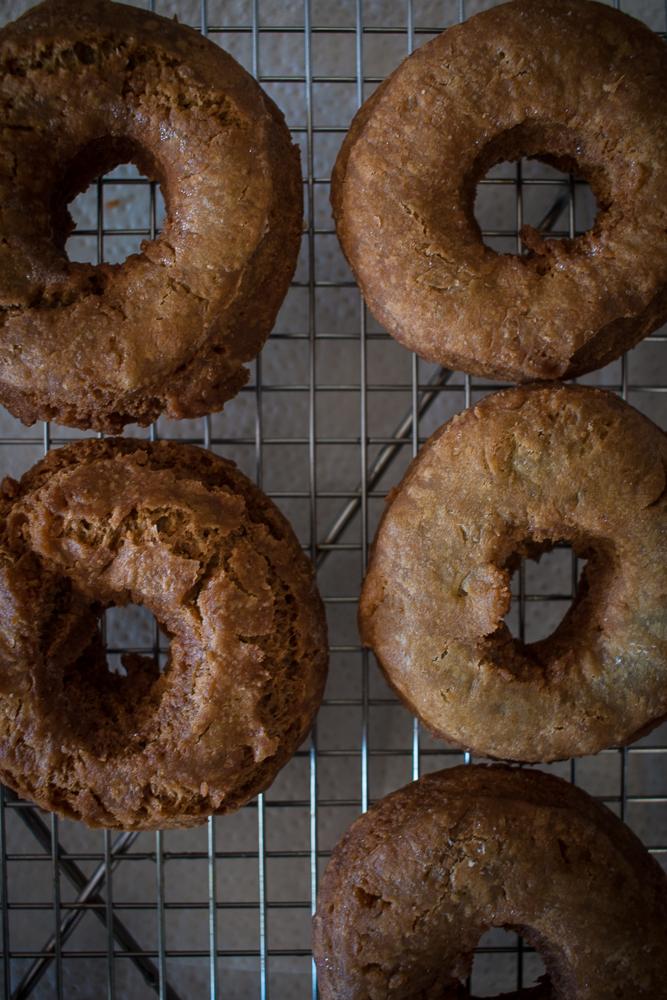 Unglazed doughnuts | Linden & Lavender