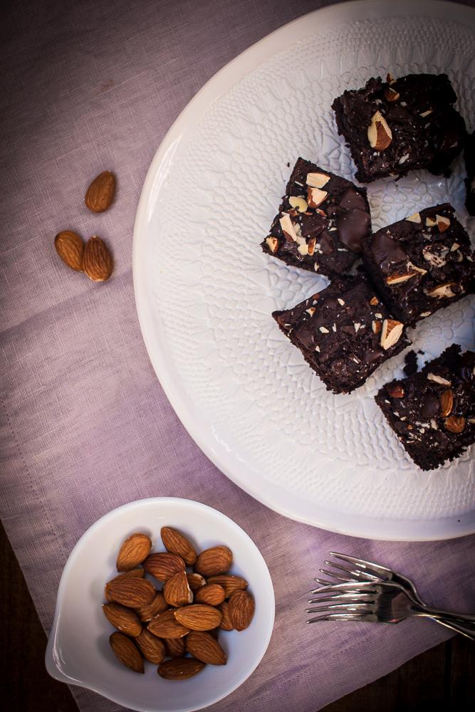 Seed Butter Brownies | Linden & Lavender