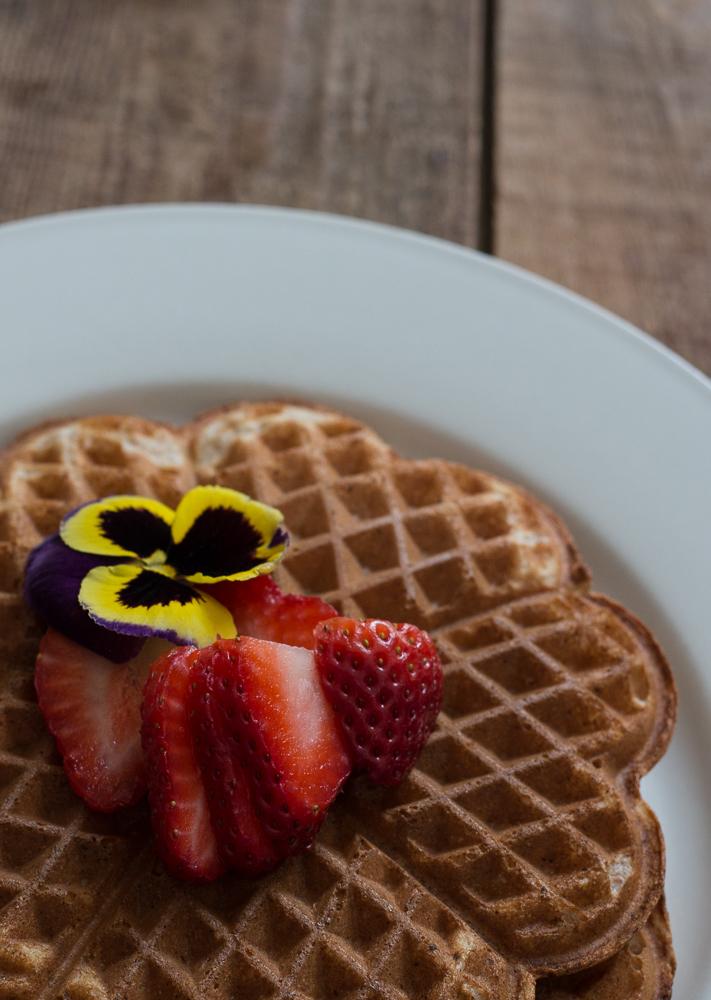 Spelt Waffles | Linden & Lavender