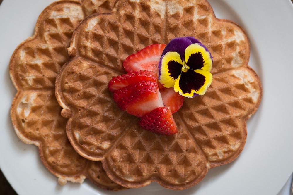 Spelt flour waffles | Linden & Lavender