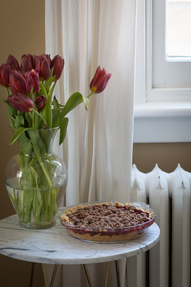 Pie and Tulips | Linden & Lavender