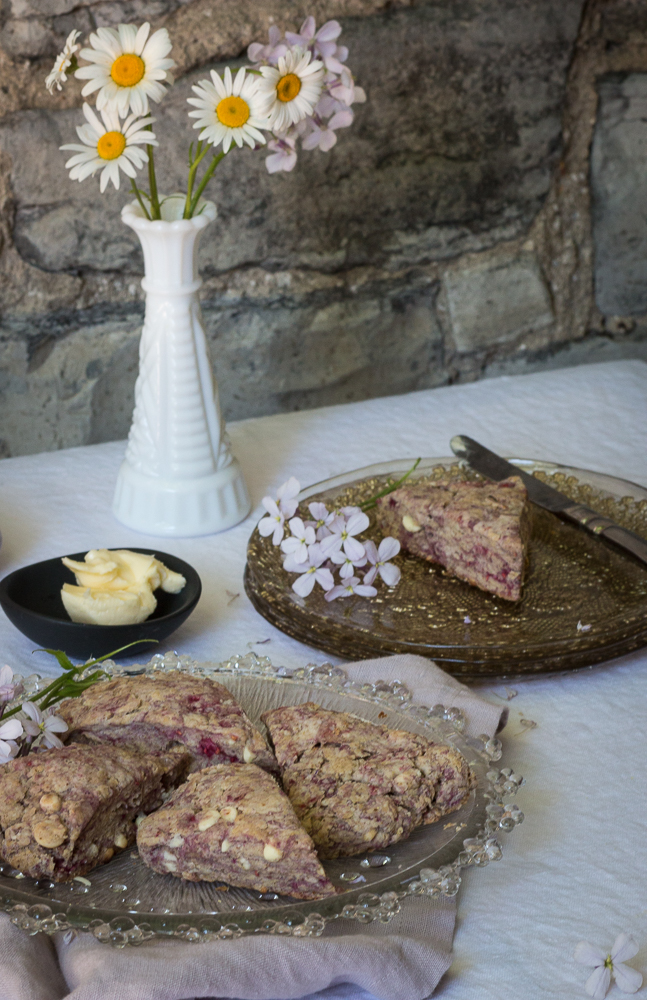 Raspberry Scones | Linden and Lavender