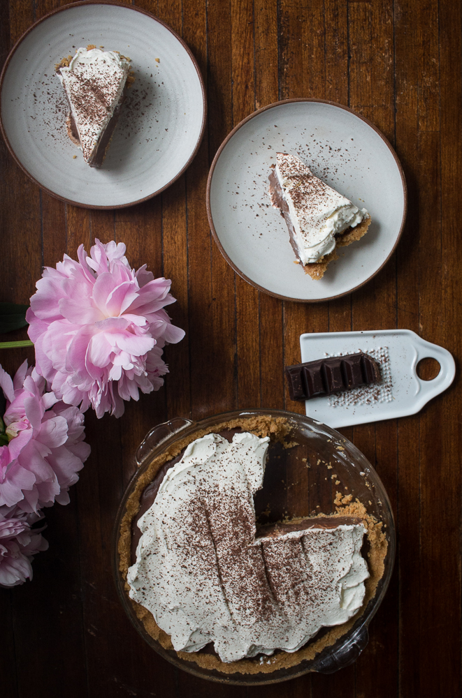 Summer Chocolate Pudding Pie | Linden & Lavender