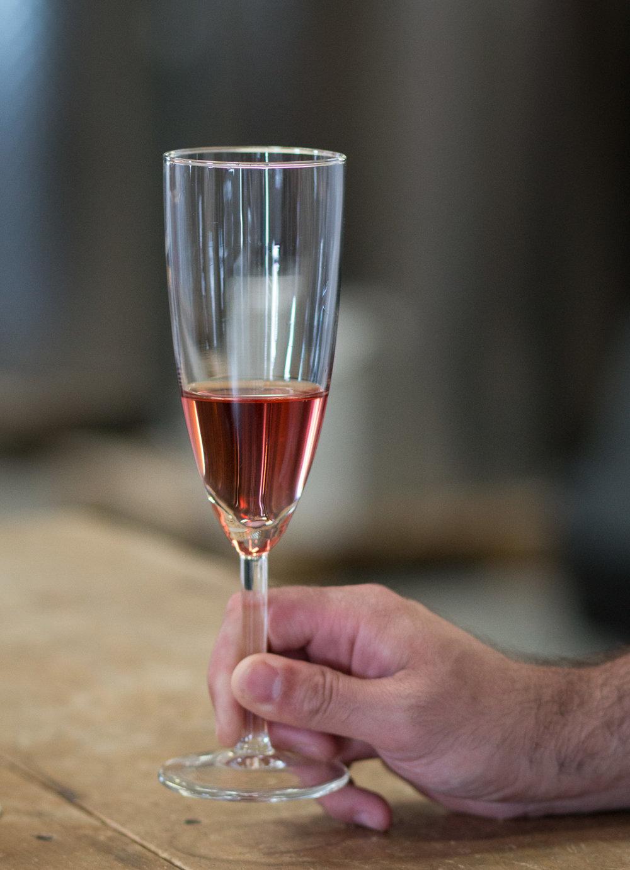 Sparkling Rosé, Hinterland Wine Company