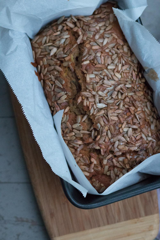 spelt flour zucchini bread