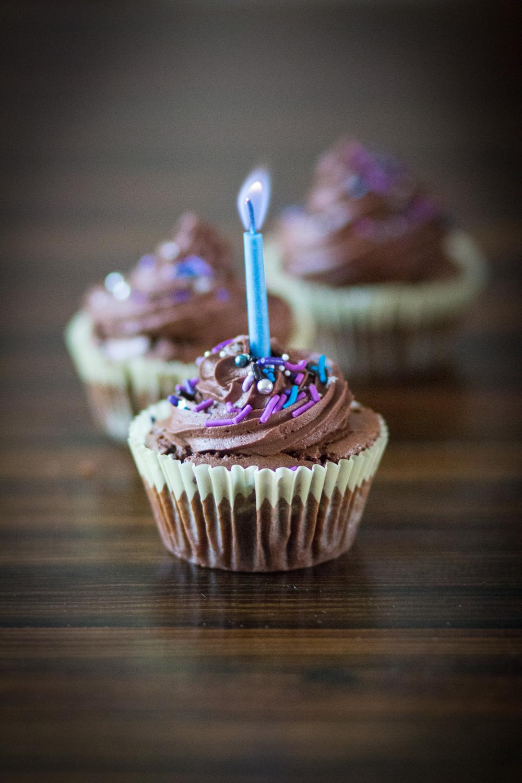 spelt brownie cupcakes