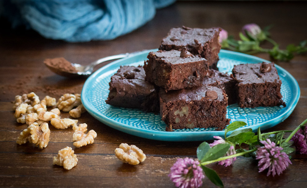 navy bean brownies