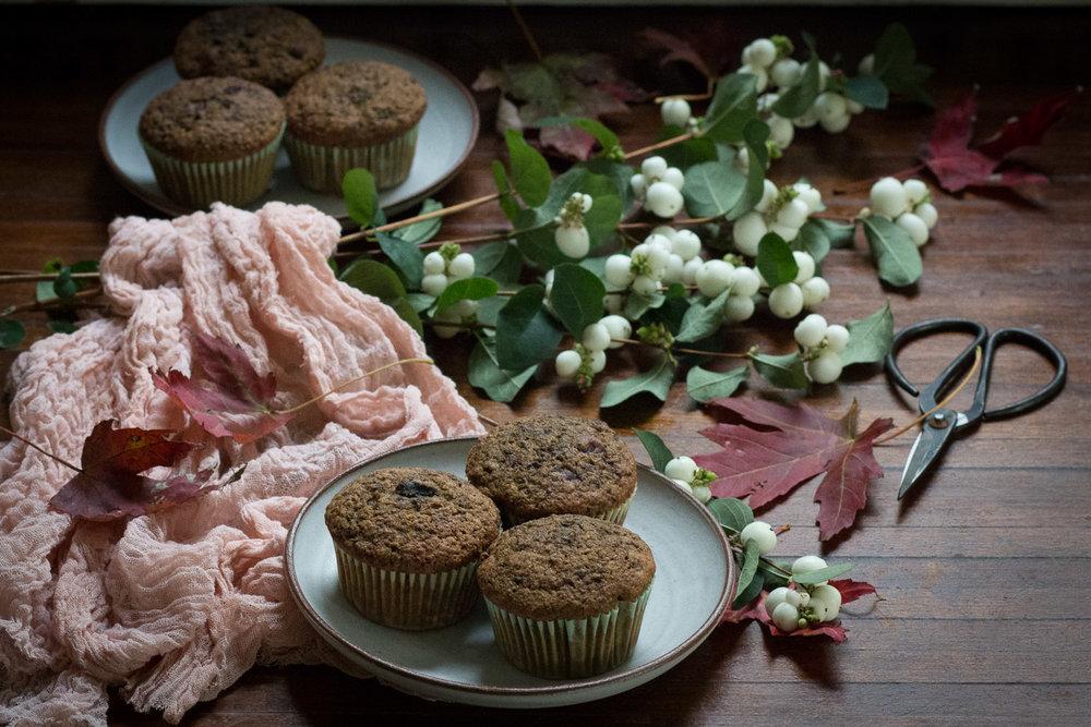 beet spiced muffins| Linden & Lavender