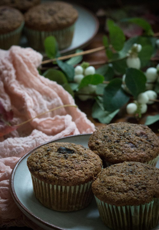 beet muffin