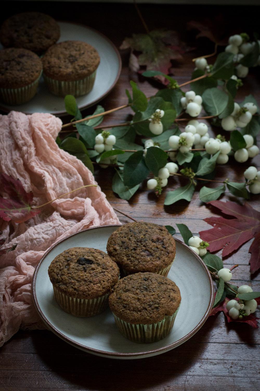 spelt flour beet muffin recipe | Linden & Lavender
