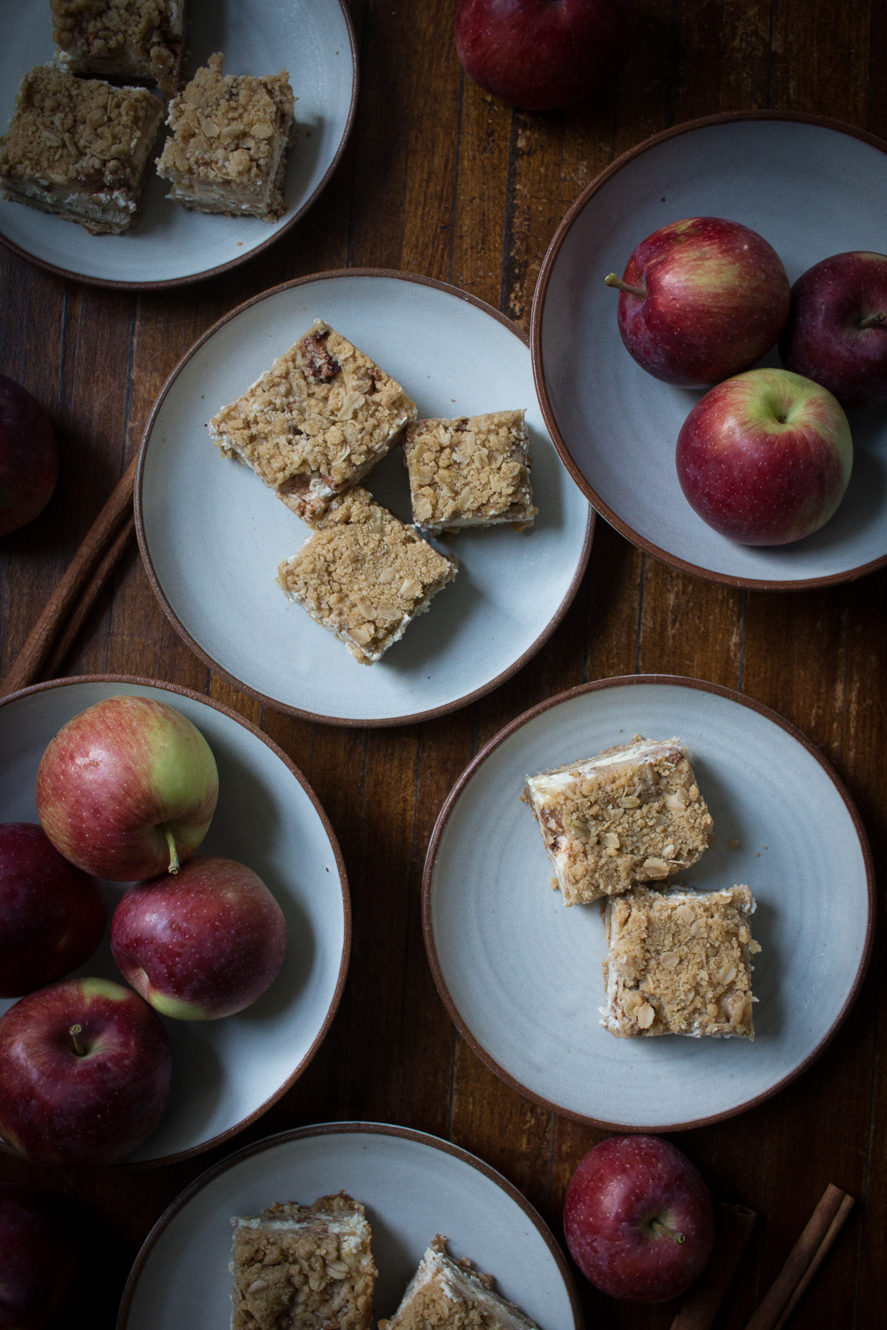 apple cheesecake squares | linden & lavender
