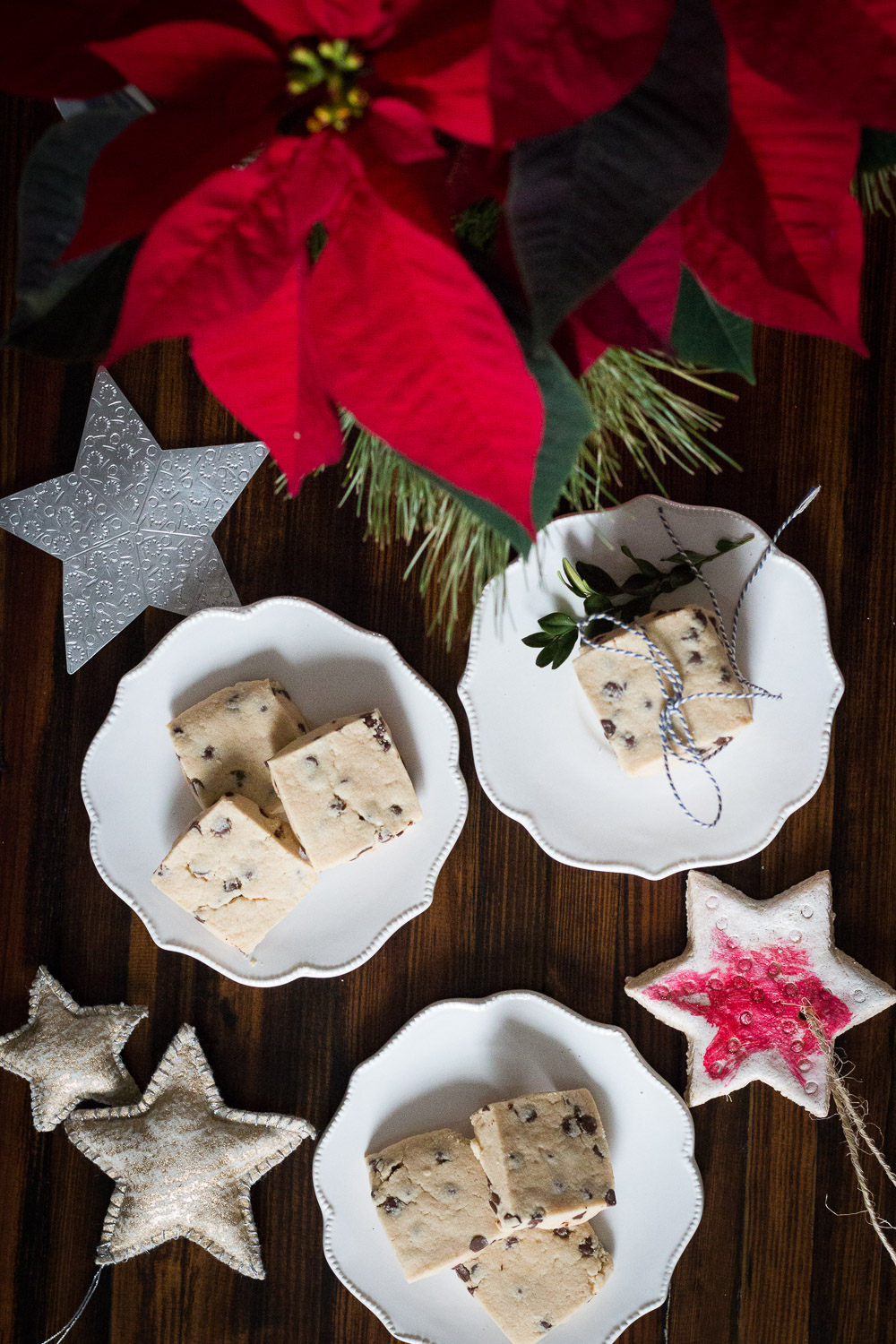 Peanut butter chocolate chip shortbread | Linden & Lavender
