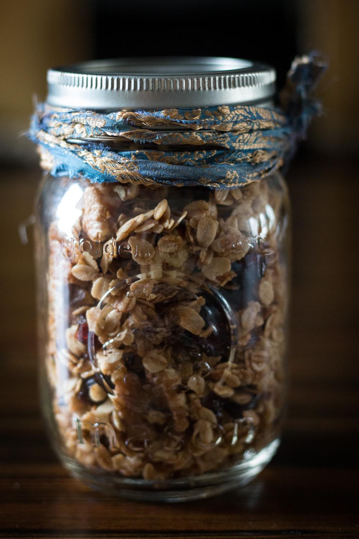 Walnut granola | Linden & Lavender