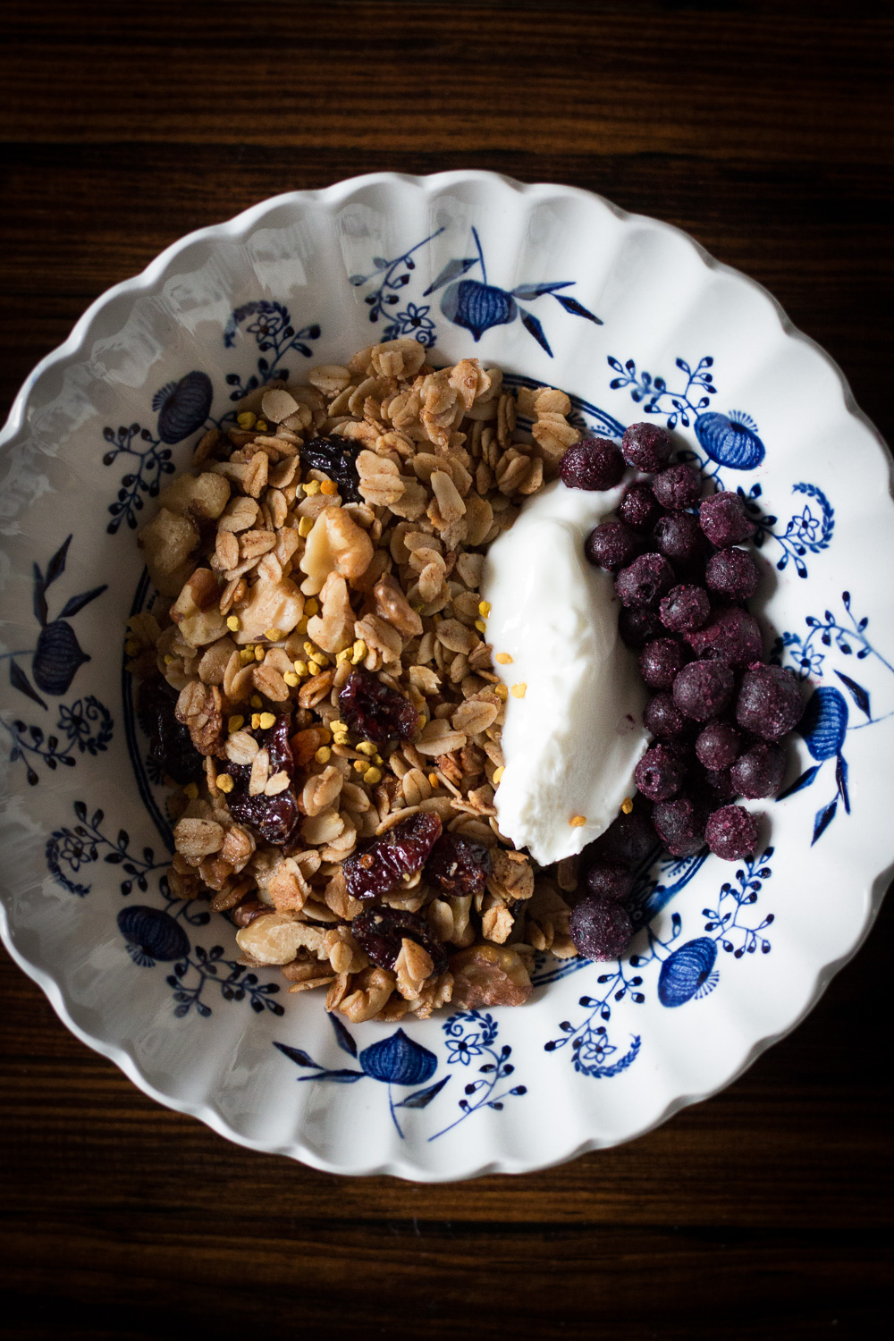 Granola all dressed up | Linden & Lavender