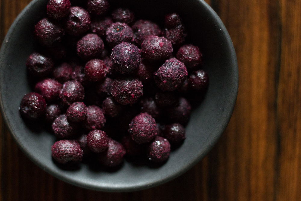 Frozen Blueberries | Linden & Lavender