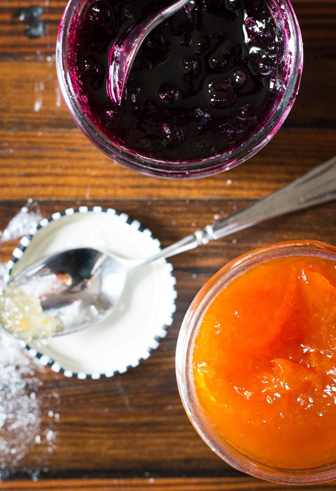 Apricot & Blueberry Jam | Linden & Lavender
